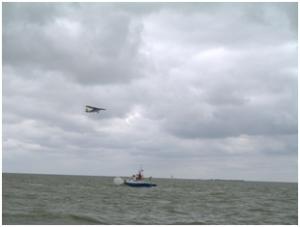 Flyingfocus zet de schepen op de foto