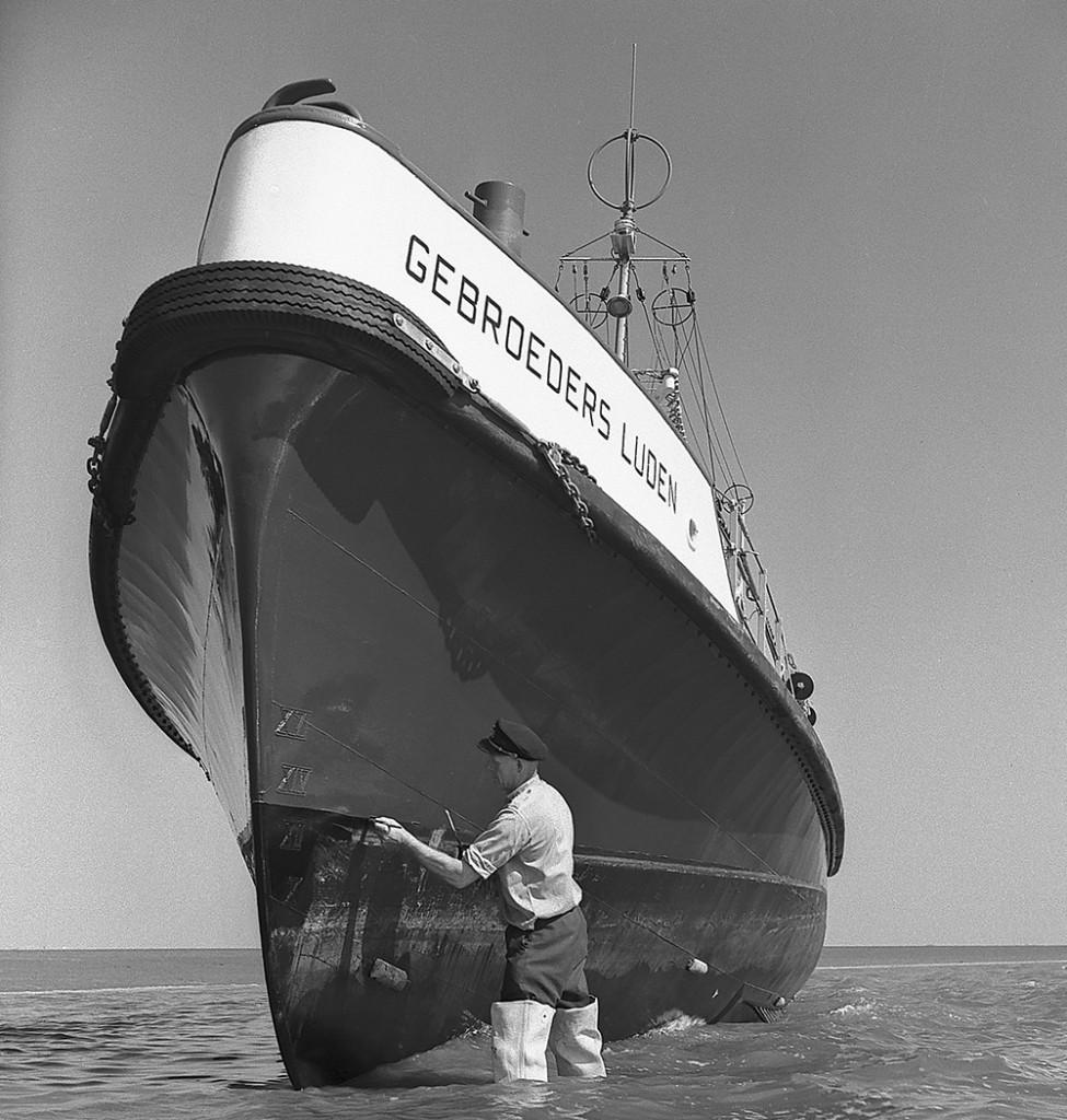 Historische reddingboot Gebroeders Luden