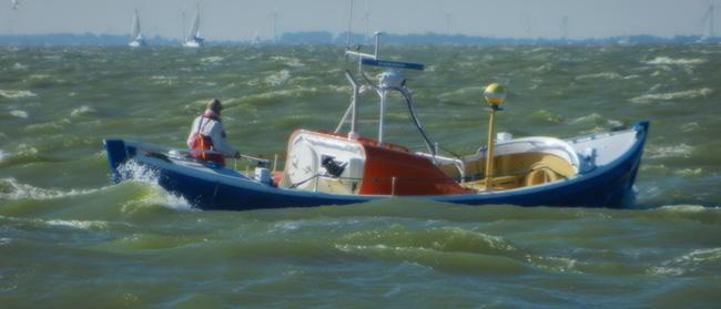 Historische reddingboot Jhr. H.J. Ortt 1990