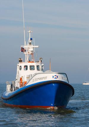 Historische reddingboot De Zeemanspot