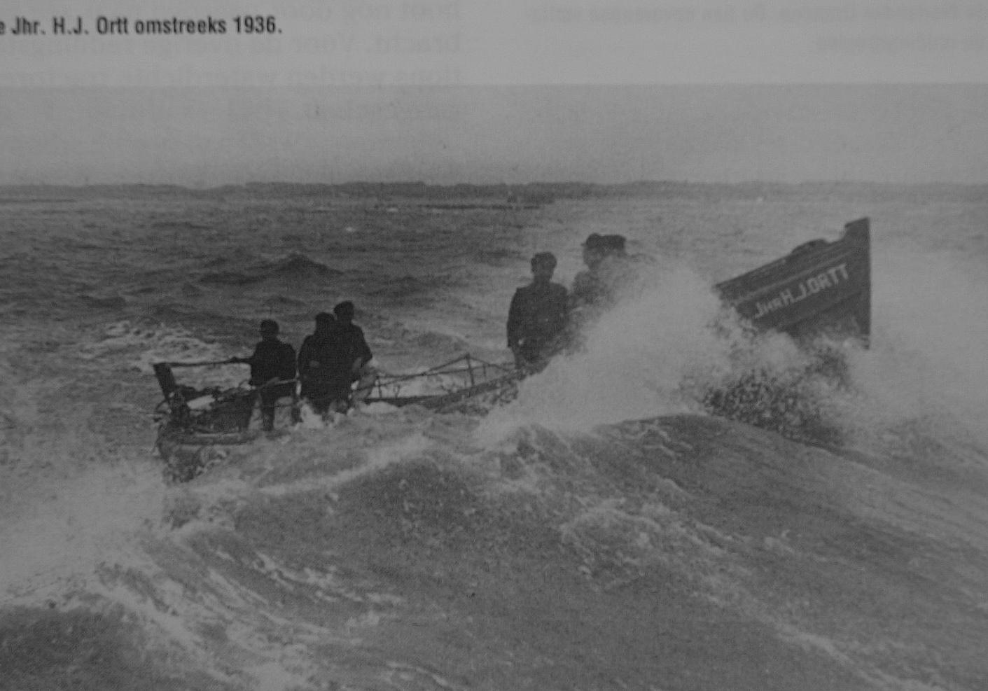 Historische reddingboot Jhr. H.J. Ortt 1936